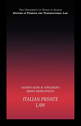 9780415443548: PB Direct Italian Private Law (UT Austin Studies in Foreign and Transnational Law)