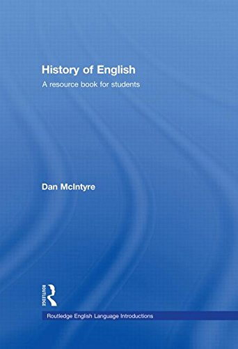 9780415444309: History of English: A Resource Book for Students (Routledge English Language Introductions)
