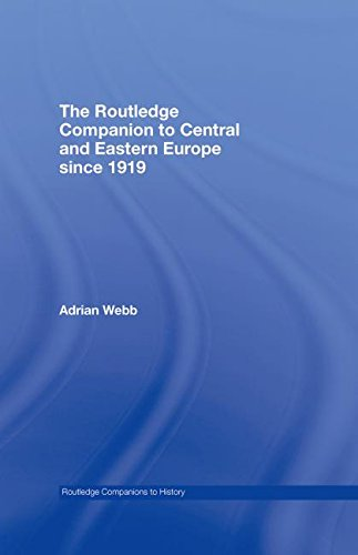 9780415445634: The Routledge Companion to Central and Eastern Europe since 1919 (Routledge Companions to History)