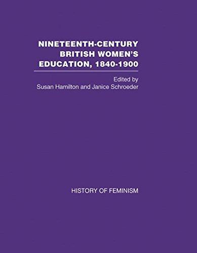 9780415446587: Nineteeth-Century British Women's Education, 1840-1900: Arguments and Experiences (v. 4)