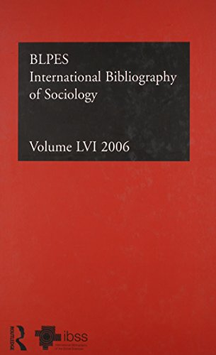 IBSS: Sociology (Hardcover): Compiled by the British Library of Political and Economic Science