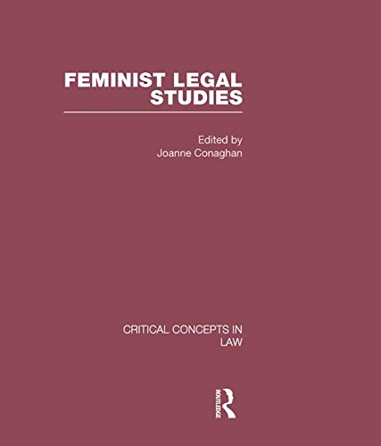 9780415447478: Feminist Legal Studies (Critical Concepts in Law)
