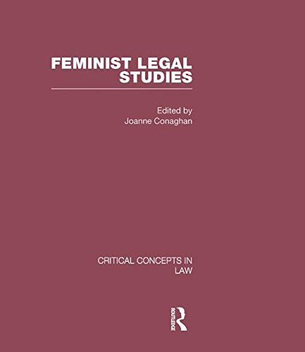 9780415447485: Feminist Legal Studies (Critical Concepts in Law)