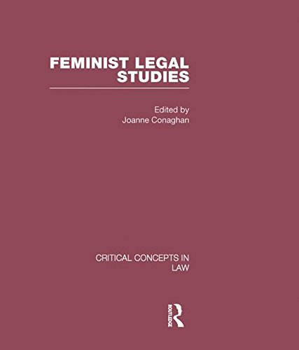 9780415447492: Feminist Legal Studies (Critical Concepts in Law)