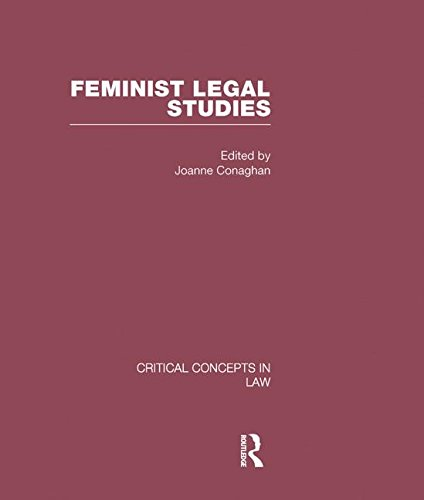 9780415447515: Feminist Legal Studies (Critical Concepts in Law)