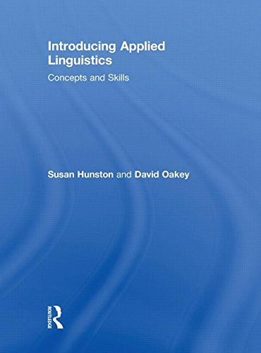 9780415447683: Introducing Applied Linguistics: Concepts and Skills