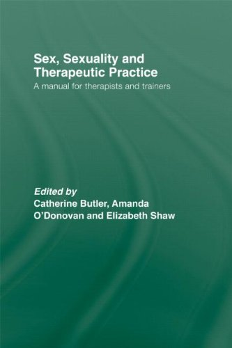 9780415448086: Sex, Sexuality and Therapeutic Practice: A Manual for Therapists and Trainers