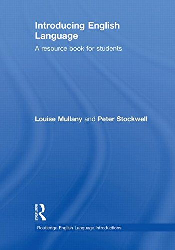 9780415448864: Introducing English Language: A Resource Book for Students (Routledge English Language Introductions)