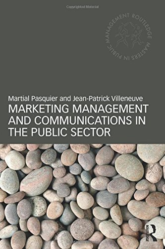 9780415448987: Marketing Management and Communications in the Public Sector (Routledge Masters in Public Management)