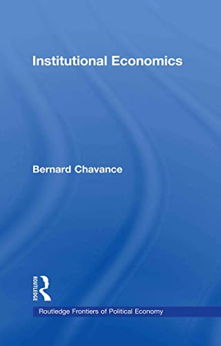 9780415449113: Institutional Economics (Routledge Frontiers of Political Economy)