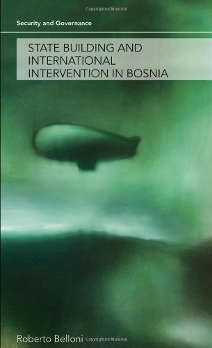 9780415449250: State Building and International Intervention in Bosnia