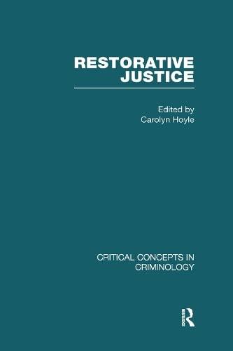 Restorative Justice (Hardback)