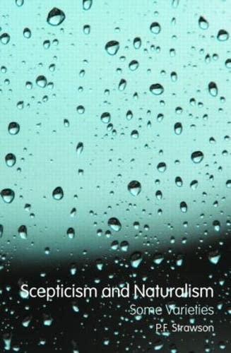9780415450492: Scepticism and Naturalism: Some Varieties