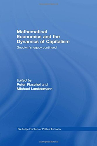 9780415451451: Mathematical Economics and the Dynamics of Capitalism: Goodwin's Legacy Continued (Routledge Frontiers of Political Economy)