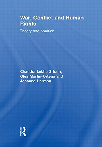 9780415452052: War, Conflict and Human Rights: Theory and Practice