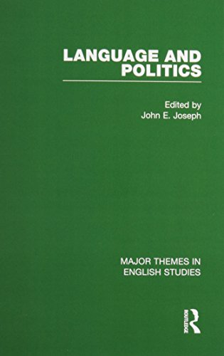 9780415452434: Language and Politics (Major Themes in English Studies)