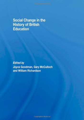 Social Change in the History of British: Joyce Goodman:
