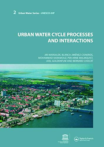 9780415453479: Urban Water Cycle Processes and Interactions: Urban Water Series - UNESCO-IHP