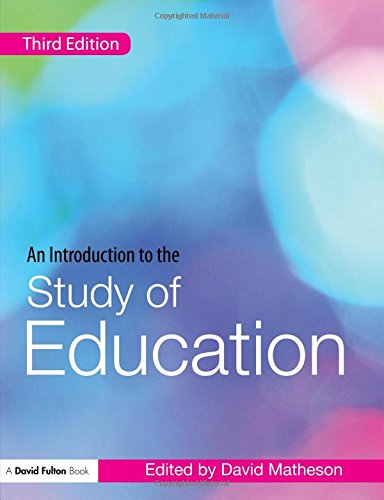 9780415453653: An Introduction to the Study of Education (David Fulton Books)