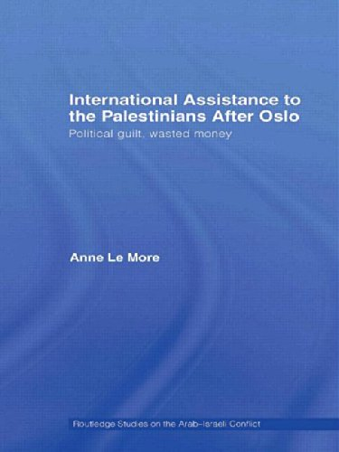 9780415453851: International Assistance to the Palestinians after Oslo: Political guilt, wasted money (Routledge Studies on the Arab-Israeli Conflict)