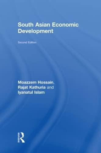 9780415454728: South Asian Economic Development: Second Edition
