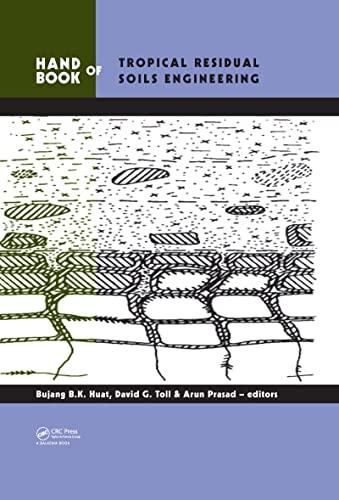9780415457316: Handbook of Tropical Residual Soils Engineering