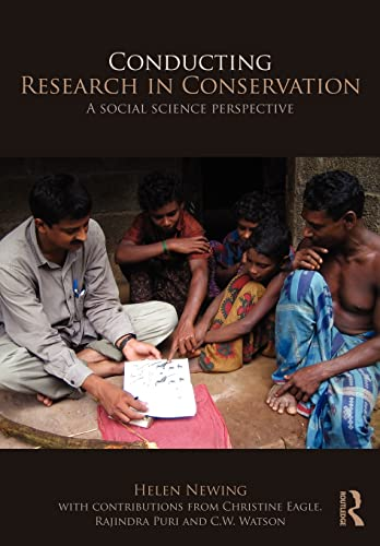 9780415457927: Conducting Research in Conservation: Social Science Methods and Practice