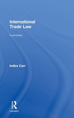 9780415458429: International Trade Law