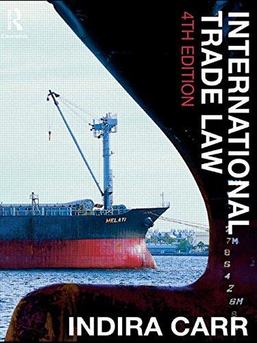 9780415458436: International Trade Law