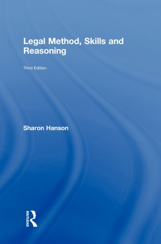 9780415458504: Legal Method, Skills and Reasoning