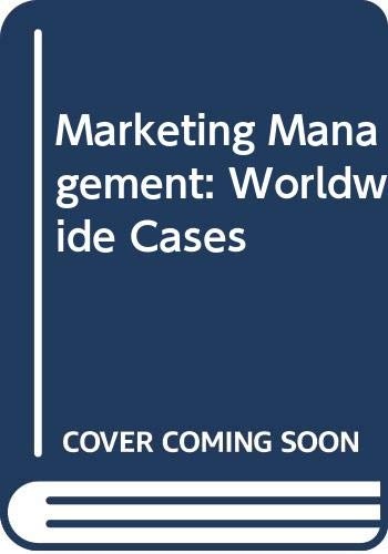 9780415458894: Marketing Management: Worldwide Cases