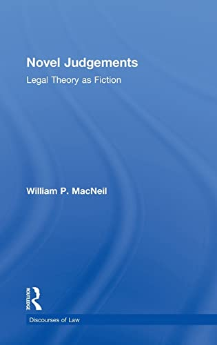 9780415459143: Novel Judgements: Legal Theory as Fiction