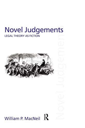 9780415459150: Novel Judgements: Legal Theory as Fiction