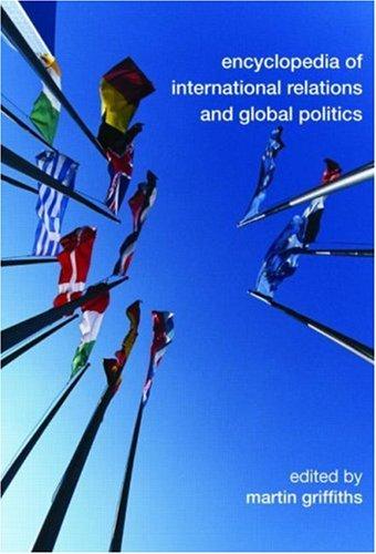 9780415459181: Encyclopedia of International Relations and Global Politics