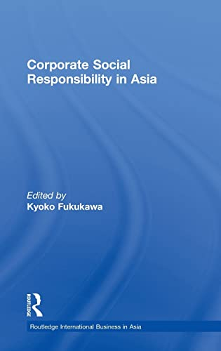 9780415459358: Corporate Social Responsibility in Asia (Routledge International Business in Asia)