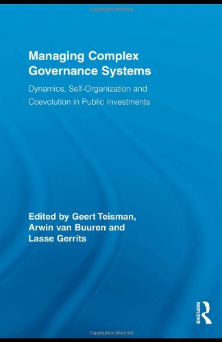 9780415459730: Managing Complex Governance Systems (Routledge Critical Studies in Public Management)