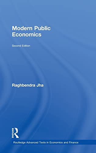 9780415460101: Modern Public Economics Second Edition (Routledge Advanced Texts in Economics and Finance)