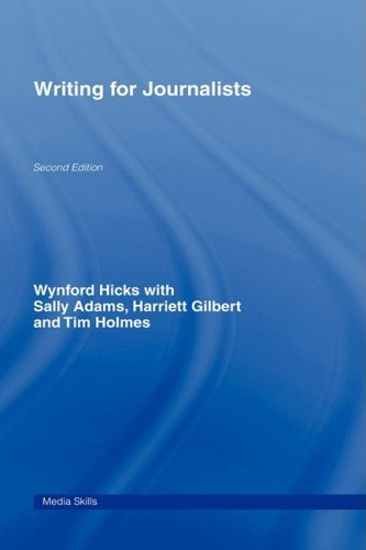9780415460200: Writing for Journalists (Media Skills)
