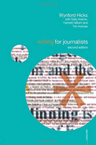 9780415460217: Writing for Journalists (Media Skills)