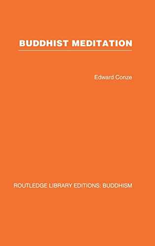 9780415460910: RLE: Buddhism (20 vols): Buddhist Meditation: Volume 3 (Routledge Library Editions: Buddhism)