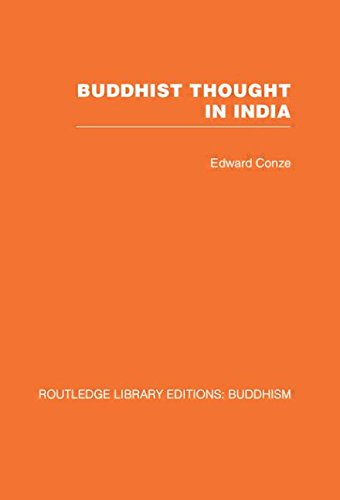 9780415460989: Buddhist Thought in India: Three Phases of Buddhist Philosophy: 4 (Routledge Library Editions: Buddhism)