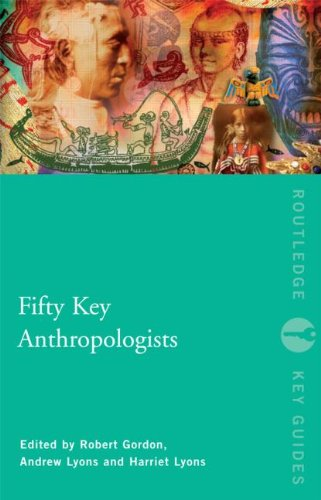 9780415461054: Fifty Key Anthropologists (Routledge Key Guides)