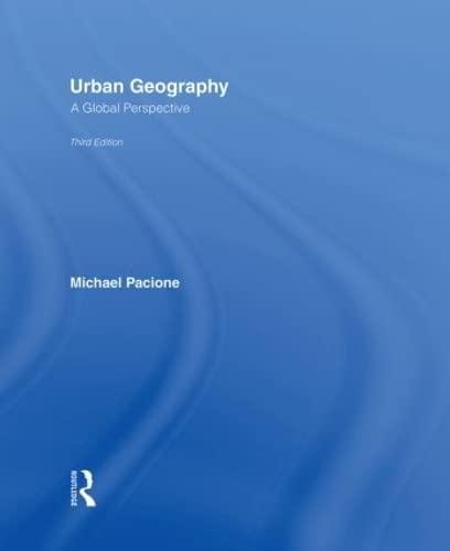 9780415462013: Urban Geography