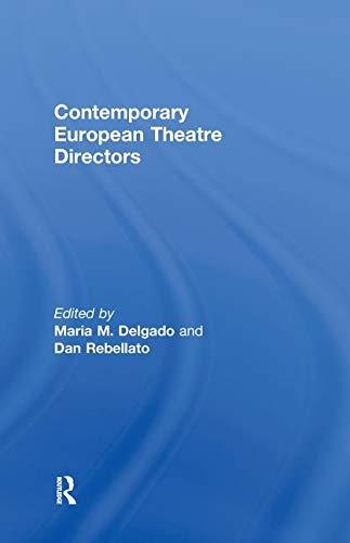 9780415462501: Contemporary European Theatre Directors