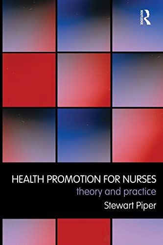 9780415462631: Health Promotion for Nurses: Theory and Practice