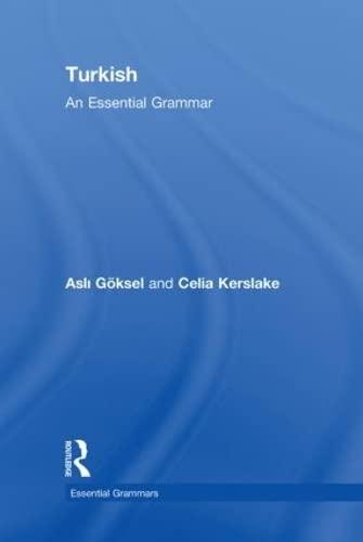 9780415462686: Turkish: An Essential Grammar (Routledge Essential Grammars)