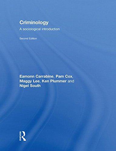 9780415464505: Criminology: A Sociological Introduction