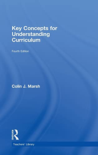 9780415465779: Key Concepts for Understanding Curriculum (Teachers' Library)