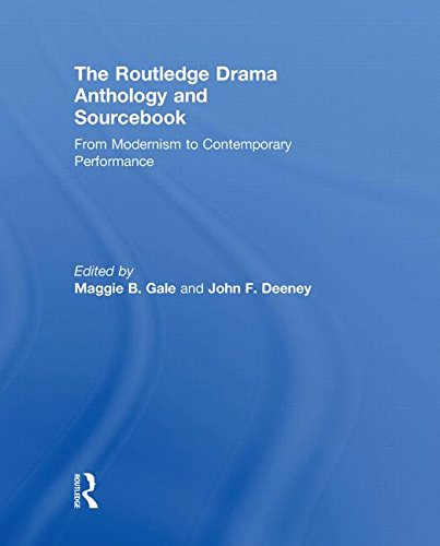 9780415466066: The Routledge Drama Anthology and Sourcebook: From Modernism to Contemporary Performance