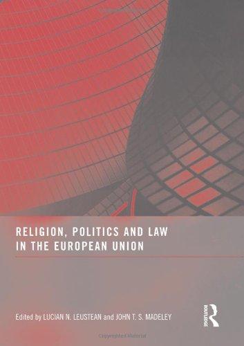 Religion, Politics and Law in the European: Editor-Lucian N. Leustean;
